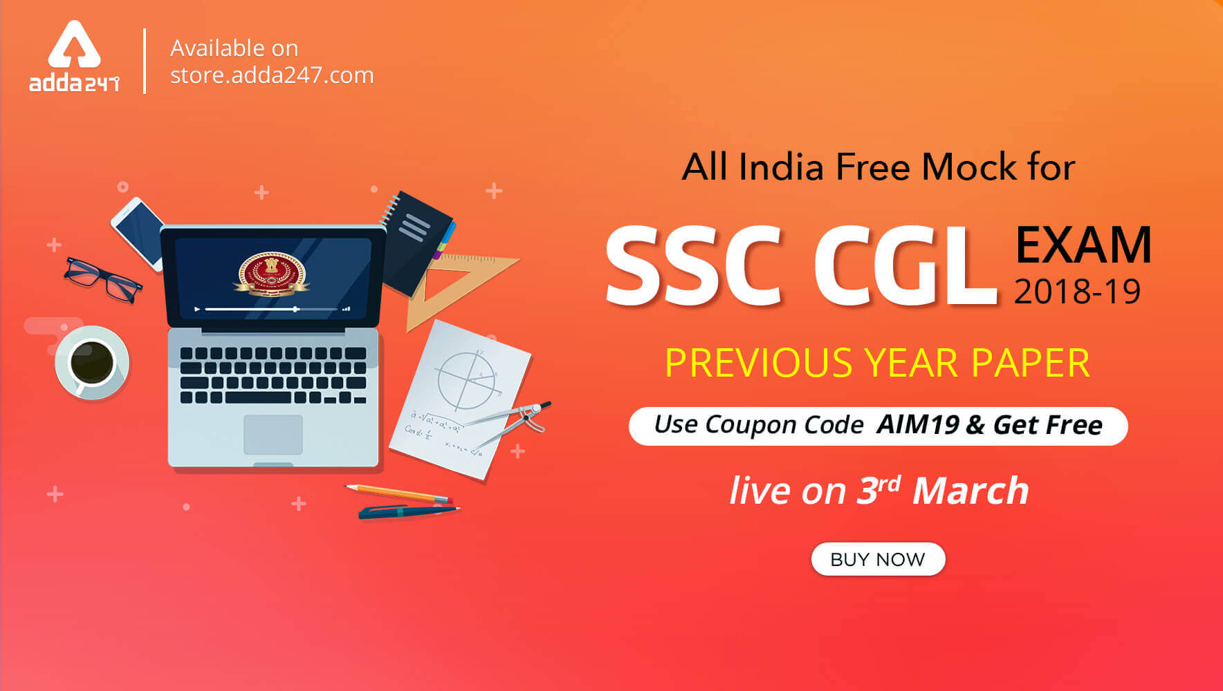 All India Mock Test : SSC CGL Previous Year Paper