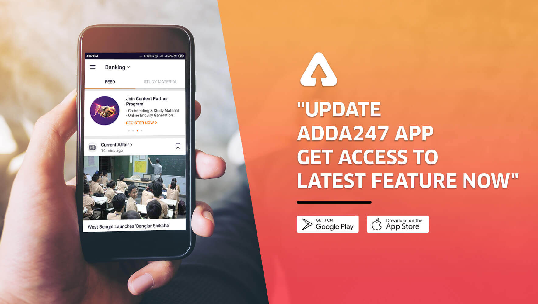 Adda247 App Latest Update Has a Lot More To Explore