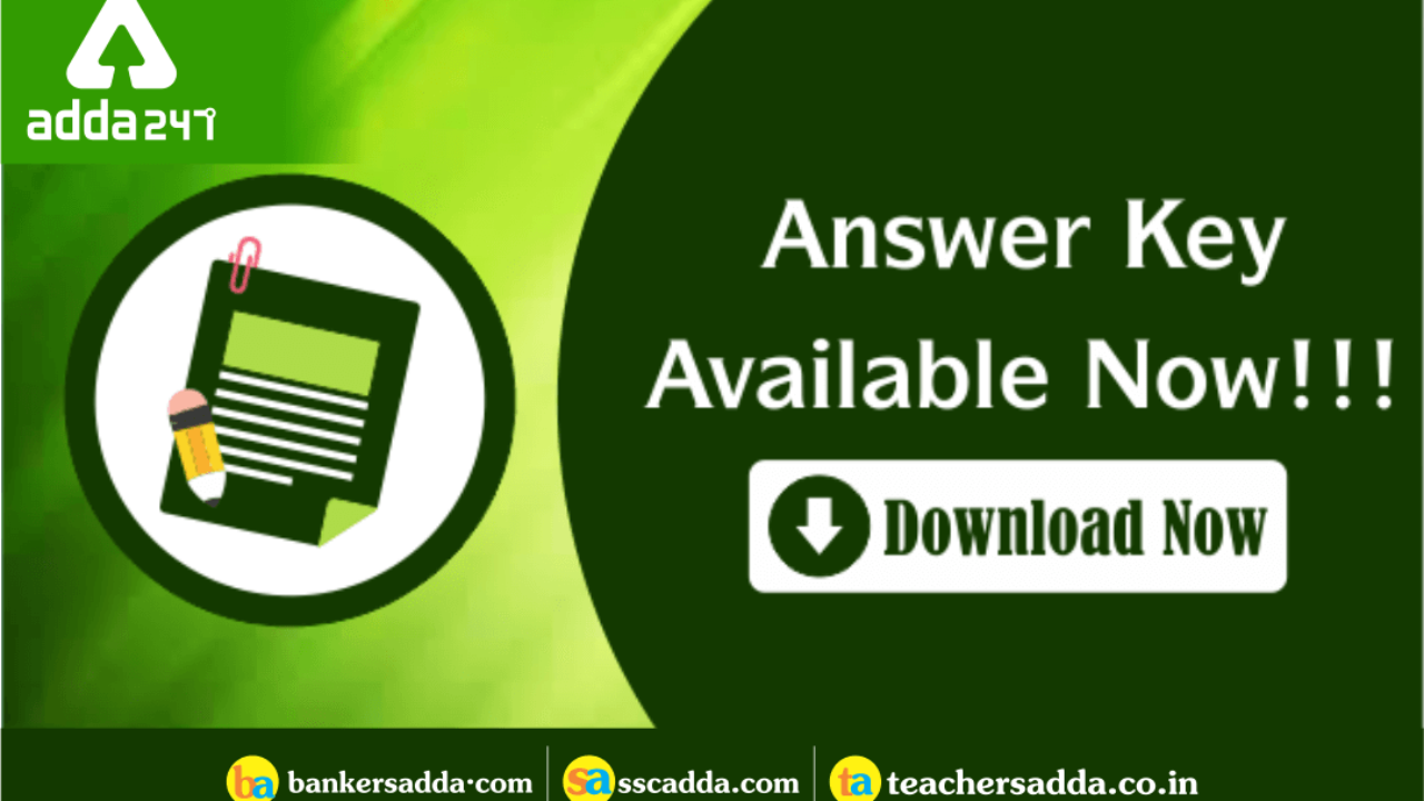 SSC CHSL Answer Key 2019 Out: Check Tier I Answer Key Here