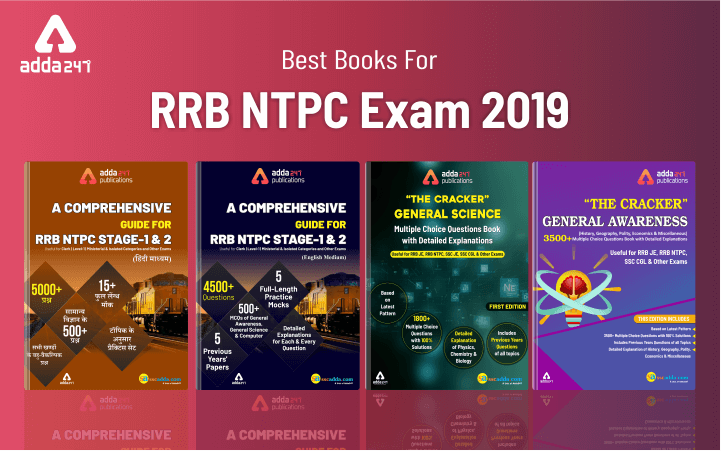 Railway Book for RRB NTPC 2019 Exam (English & हिंदी