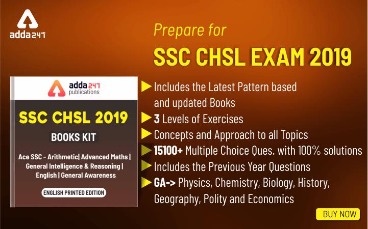 SSC CHSL Books for 2019 CHSL Exam (In English Edition)