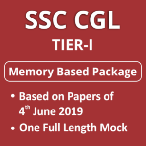 SSC CGL Questions Asked 2018-19 | Memory Based Paper: Download PDF
