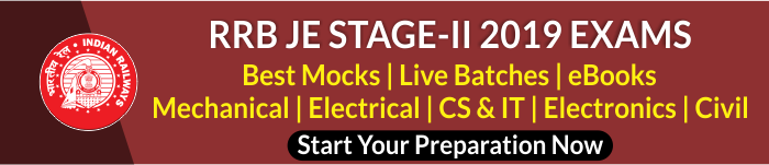 RRB JE Stage-II Physics Quiz : 29th July_50.1