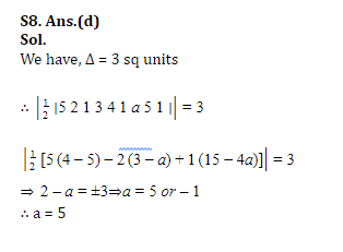 SSC CGL Mains Co-ordinate Geometry Questions : 3rd July_150.1