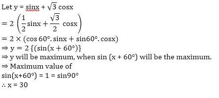 SSC CGL Mains Trigonometry Questions : 30th July_60.1
