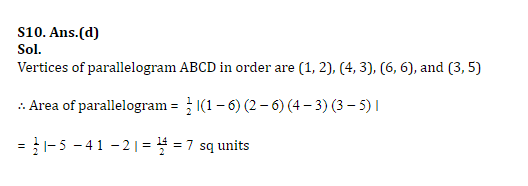 SSC CGL Mains Co-ordinate Geometry Questions : 3rd July_190.1