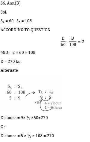 SSC CGL Mains Time & distance Questions : 17th July_100.1