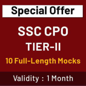 SSC CPO Tier 2 Previous Year English Questions : 13 September_50.1