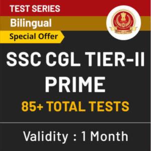 SSC CGL Tier-II Mock Test Series 2019 | Prime Test Series_60.1