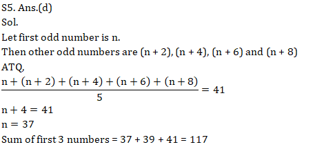 SSC CGL Mains Average and Percentage topic Questions : 6th September_90.1