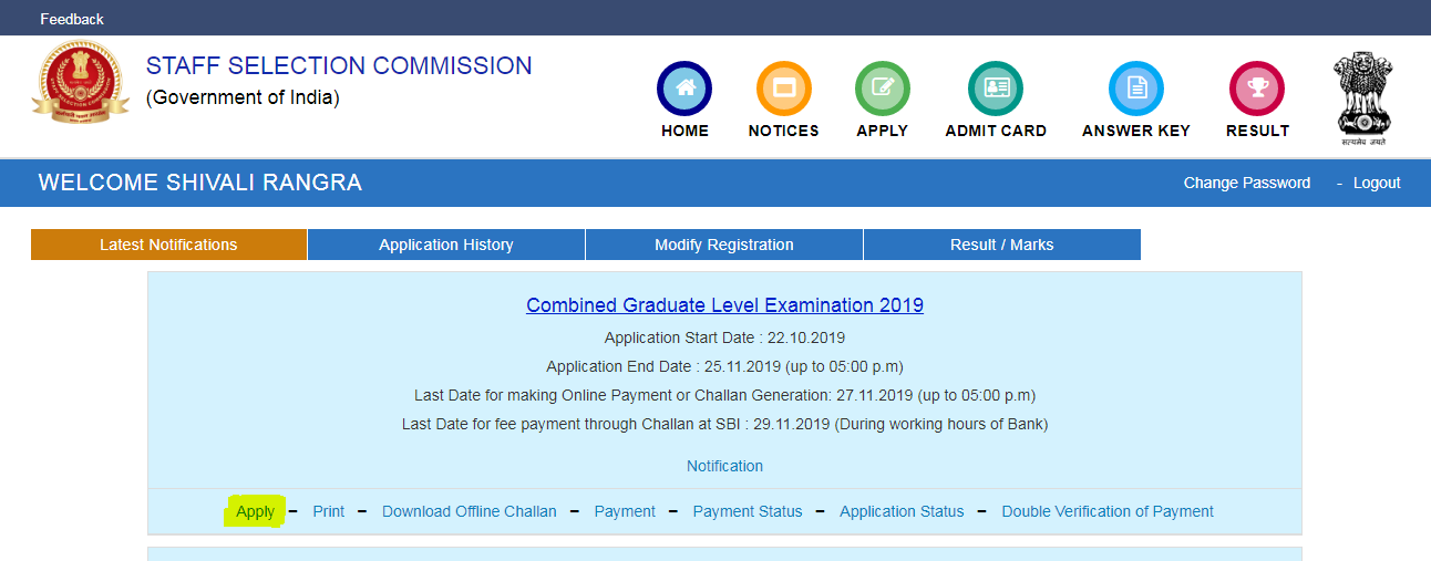 SSC CGL Apply Online 2019: Check Steps to Steps Apply Online_110.1