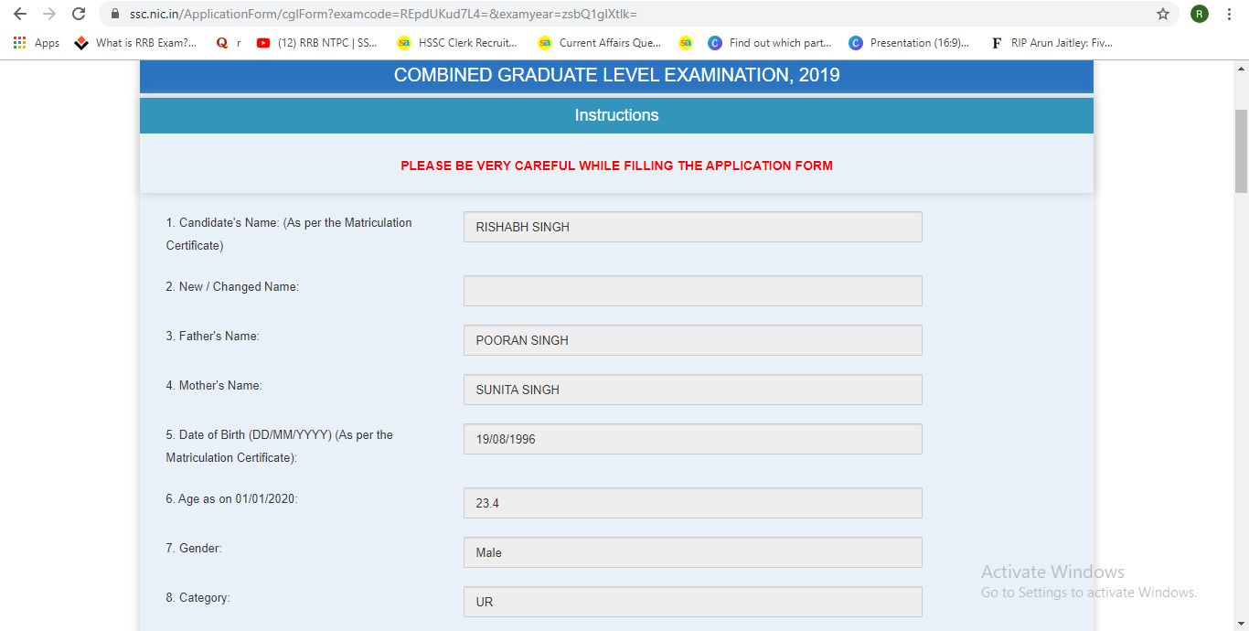 SSC CGL Apply Online 2019: Check Steps to Steps Apply Online_120.1