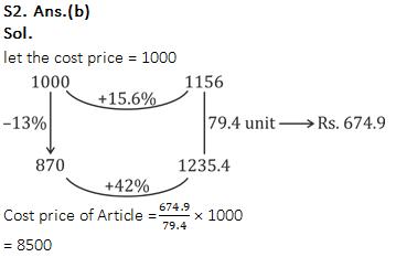 SSC CGL/CHSL के लिए संख्यात्मक अभियोगिता क्विज 28 जनवरी 2020 : लाभ और हानि_60.1