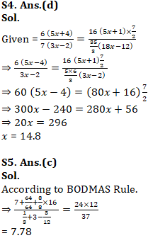 Mathematics Quiz For RRB NTPC : 29th January 2020 For Decimal & Fraction_150.1