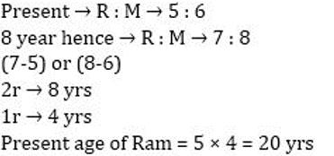 Quantitative Aptitude Quiz for SSC CHSL 29th January 2020 For Ratio & Proportion , Age, Partnership_130.1