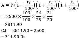 Quantitative Aptitude Quiz for SSC CHSL 31st January 2020 For Percentage, Compound Interest , Time Speed & Distance_60.1