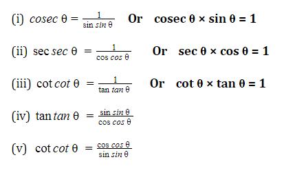 त्रिकोणमिति के नोट्स : जानिए त्रिकोणमिति के सूत्र, ट्रिक्स और इसपर आधारित प्रश्नों के हल करने की प्रक्रिया_80.1