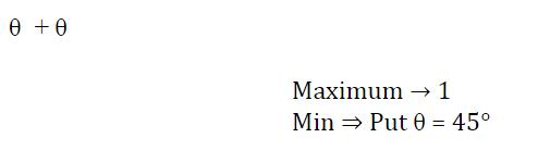 त्रिकोणमिति के नोट्स : जानिए त्रिकोणमिति के सूत्र, ट्रिक्स और इसपर आधारित प्रश्नों के हल करने की प्रक्रिया_180.1