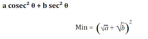 त्रिकोणमिति के नोट्स : जानिए त्रिकोणमिति के सूत्र, ट्रिक्स और इसपर आधारित प्रश्नों के हल करने की प्रक्रिया_210.1