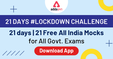 21 Days Lockdown Challenge