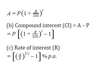 यहाँ देखें चक्रवृद्धि ब्याज के सूत्र, ट्रिक और उसपर आधारित प्रश्न_50.1