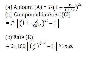 यहाँ देखें चक्रवृद्धि ब्याज के सूत्र, ट्रिक और उसपर आधारित प्रश्न_60.1