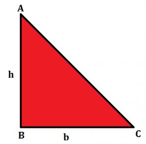 त्रिभुज का क्षेत्रफल :क्षेत्रफल फार्मूला और उसके उदाहरण 2021_50.1