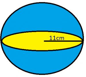गोले का आयतन: परिभाषा, सूत्र और उदाहरण_70.1