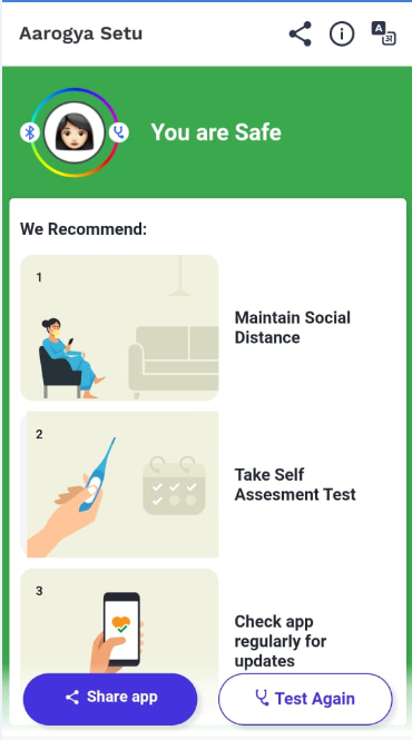 Arogya setu mobile app: What is it, features, benefits, uses and how to download_110.1