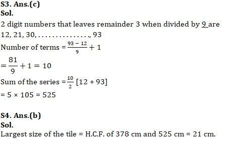 Mathematics Quiz For RRB NTPC : 30 th January 2020 For Number System_140.1