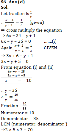 Mathematics Quiz For RRB NTPC : 30 th January 2020 For Number System_160.1