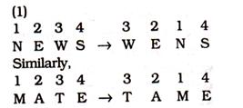 Coding - decoding Reasoning Quiz for SSC CGL Exam 2020: 31st January 2020_60.1